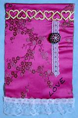 prayer flag lois sm (Kalona Creativity) Tags: friends halloween work origami crane flags doodle boxes swaps pockets atcs kalona inchies milliande