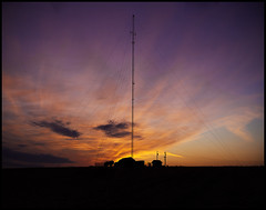 D7H_5224 (AaronHill   Photography) Tags: sunset panorama silhouette radio nikon nebraska cell 28 communications linwood guyed 2470mm d700