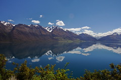 Lake Wakatipu (mthomson34) Tags: newzealand mountain lake snow reflection wakatipu lakewakatipu glenorchy