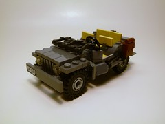 Willys Jeep V.5 ([Baci]) Tags: birthday new old its infantry am jeep 14 wwii working 4th american v3 dodge years about ba division ambulence today airborne willys 29th lied 101st moc v5 82nd wc54 pingas i brickarms afvs brickarmz