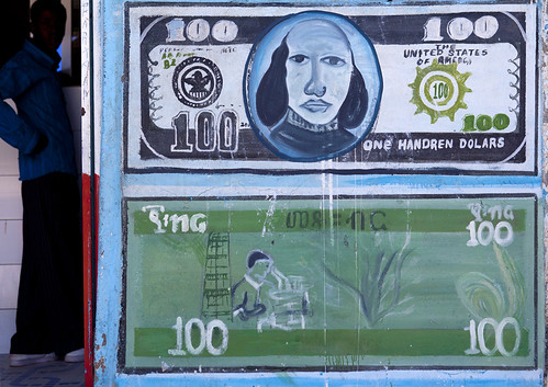 Money changer in Boroma - Somaliland