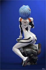 Kotobukiya Rei Ayanami (dscans) Tags: anime sexy figures kotobukiya statuettes reiayanami evengelion bfigure jfigure
