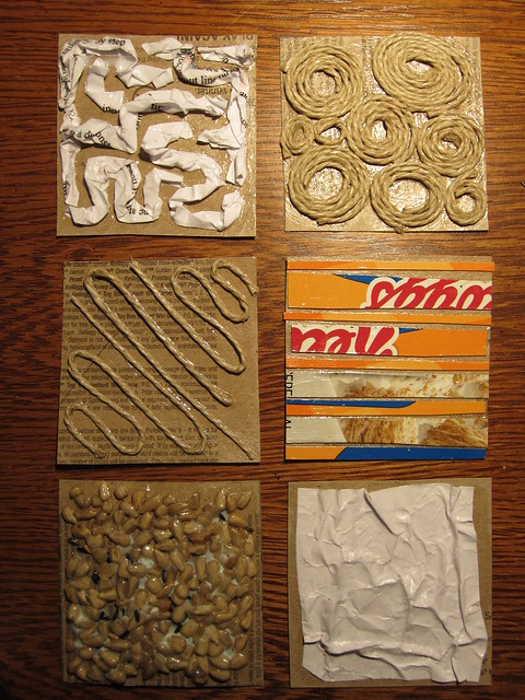 Collagraph Printing And How To Use It In The Classroom