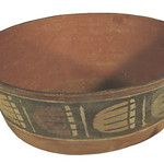 "<b>Round Bowl with Straight Tapered Sides</b><br/> ""Round Bowl with Straight Tapered Sides""  Earthenware, n.d. (Pre-Columbian) LFAC #725<a href=""http://farm8.static.flickr.com/7170/6466101995_05d40a6200_o.jpg"" title=""High res"">∝</a>"