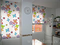 """Cortinas para Cocina, Visillos y Estores con tejidos coloridos y resistentes • <a style=""""font-size:0.8em;"""" href=""""http://www.flickr.com/photos/67662386@N08/6476379525/"""" target=""""_blank"""">View on Flickr</a>"""