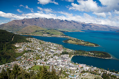 Queenstown and environs (Kalabird) Tags: newzealand mountains nature southisland queenstown bobspeak fiordlands lakewakitipu