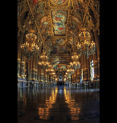 Le Grand Foyer (marc do) Tags: paris france md frankreich opera europa europe do frana fisheye frankrijk opra garnier francia parijs oper parigi frankrike opragarnier francja marcdo marcde