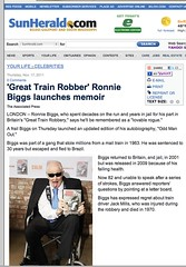Sun Herald - South Mississippi (Ronnie Biggs The Album) Tags: ronnie biggs greattrainrobbery oddmanout ronniebiggs ronaldbiggs