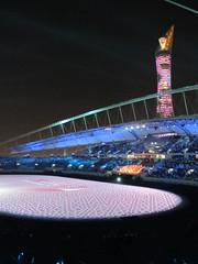 arab games 2011 - opening ceremony (gabitul) Tags: december stadium ceremony 9 games international khalifa arab opening doha qatar 2011 khalifainternationalstadium gabitul arabgames2011 dohaqatarsport