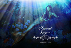 Siren ~ Mermaid Lagoon (Alexandria LaNier) Tags: ocean blue sea fish water beauty fairytale costume aqua dream lagoon romance fantasy passion tropical beyond mermaid reef storybook siren alexandrialanier bestportraitsaoi mertailor