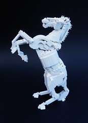 Horse4 (Rogue Bantha) Tags: sculpture horse lego