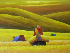 pintura peruana (paramonguino) Tags: niceshot lima per p1000642 09012010 copiarw642jpg