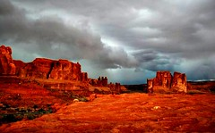 Moab (ladytrixibelle) Tags: park usa arches national archesnationalpark moabpicnik
