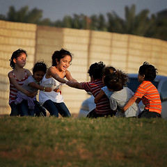 Now. Now! Not tomorrow! (Hajar Al Akoor {..waaay behind in comments..}) Tags: girls game boys kids canon children fun happy play joy streetphotography celebration celebrate 70200mm ourdailychallenge odc3 hajaralakoor