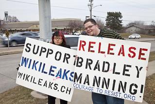 Anti-Torture Vigil - Week 60: Vigil for Bradley Manning