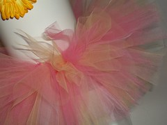 Hot Pink and Yellow Tutu (lulustutus) Tags: babygirl tutu tutus pinktutu yellowtutu birthdaytutu babytutu customtutu toddlertutu newborntutu infanttutu