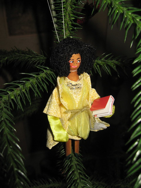 MICHELLE OBAMA Ornament #6 IMG_1385