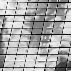 parallelograms in a square (hansntareen) Tags: bw square gray parallelogram