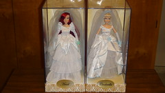 Once Upon a Wedding Ariel and Cinderella In Designer Ariel and Cinderella's Display Cases #3 (drj1828) Tags: wedding ariel store princess display designer disney case once cinderella upon