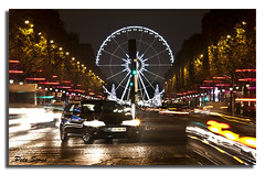 The big wheel, Paris. [Explored] (pete stone) Tags: longexposure nightphotography paris france nightimages ferriswheel canoneos5d