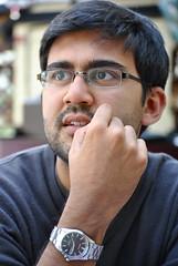 TT11 - Pensive (Sonali Campion) Tags: portrait man nikon think watch