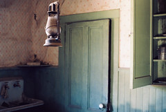 (n.states) Tags: california film analog interiors bodie lantern wildwest