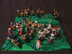 The Hardships of a Warrior - 3 (Shadow Viking) Tags: old english lego vikings saxon normans norse moc anglosaxon vikingr thebattleofhastings cccix thehardships