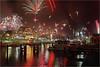 Happy New Year! (Sandra OTR) Tags: germany warnemünde fireworks newyearseve silvester feuerwerk alterstrom gettygermanyq4 party2012