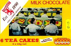 tea cakes (Kollage Kid) Tags: collage tea chocolate kettle teacakes
