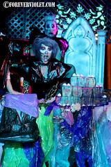 2011 NYE Trash Masquerade (03) (Forever Violet Photography) Tags: music poetry theatre nye newyearseve masquerade neilgaiman amandapalmer 2011 trashmasquerade
