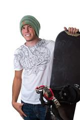 Snowboard Tyler portrait.jpg (Sockles1) Tags: portrait white guy me hat self goggles tan tyler snowboard backdrop hurley burton harney bindings 2011