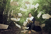 what do you think? (forttt) Tags: selfportrait tree forest canon book break conceptual