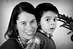 Timna and Ilan (lifeinmyzoo) Tags: christmas family holiday hanukkah hanukkiah xmas11