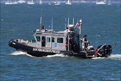 San Francisco Police Boat (eugene.photo) Tags: sanfrancisco california usa october events police places 2008 fleetweek sfpd 2011 fleetweek2011