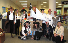 library pirates (s'kat) Tags: pirates yorktown swashbuckling officespace pirateship avast yorkcounty arrrrrrrrrrrrr yorkcountypubliclibrary