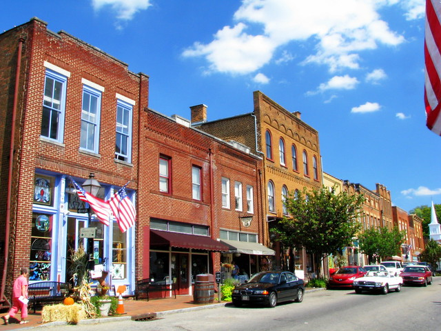Jonesborough, TN Storefronts