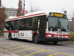 Toronto Transit Commission #1526 (vb5215's Transportation Gallery) Tags: toronto ttc transit orion ng 2008 commission vii hev