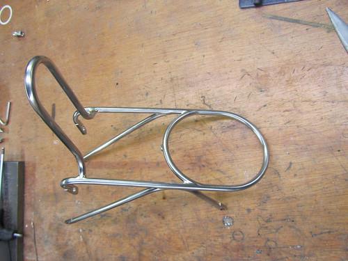 Custom stainless rack