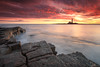 St. Mary's from Old Hartley (Alistair Bennett) Tags: lighthouse seascape sunrise coast rocks stmarys whitleybay tynewear oldhartley canonefs1022 gnd09se gnd075he gnd045se