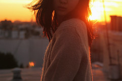 one. (dimplyemily) Tags: light hair goldenhour 52weeks