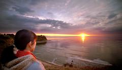 Sunset at Lunada Bay (jibbit) Tags: ocean sunset jeff girl clouds nikon waves cliffs cecilia lunadabay ranchopalosverdes d700 jefftafoya