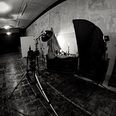 Momento Morte Set-up (Studio d'Xavier) Tags: bw square behindthescenes lightingsetup strobistsetup