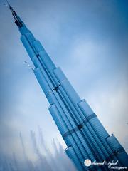 Khalifa Tower - Dubai .. بُـرج خليفة (7afeed) Tags: tower landscape dubai uae emirates khalifa burj khalifatower burjkhalifa