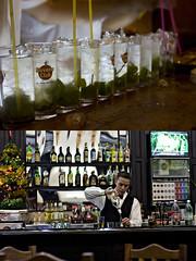 Another moijto.. (sjwilliams82) Tags: man bar havana cuba mint cocktail rum lime moijto