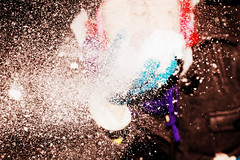 Snow Face. (Kyra Elizabeth) Tags: atlanta winter portrait selfportrait snow color minnesota self canon project georgia focus dof year young depthoffield teen teenager 365 everyday challenge teenphotographer 60d 365project portraitaday everydayforayear photopluto