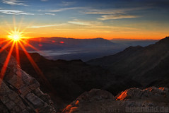 Sunrise at Aguereberry Point (alpenbild.de) Tags: california ca usa nature sunrise landscape death nationalpark view desert natur valley mojave aussicht landschaft sonnenaufgang wste kalifornien deathvalleynationalpark panamintmountains