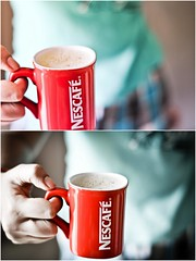 Red Mug (Phani.Kumar) Tags: red coffee 50mm mug nescafe d90 f18d d0f phanikumar