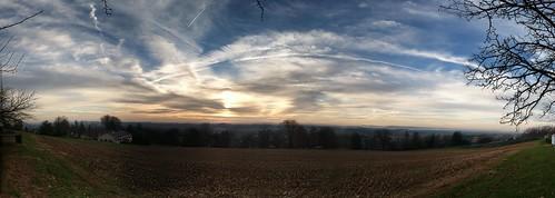 Sky over Elizabeth PA