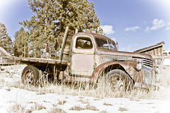 Old Truck (Photos By Clark) Tags: colorado unitedstates places location where northamerica printed locale guffey print201205