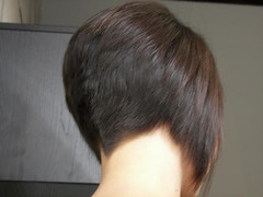 Nape (BobClipper) Tags: haircut hair women bob short nape clippered vshape